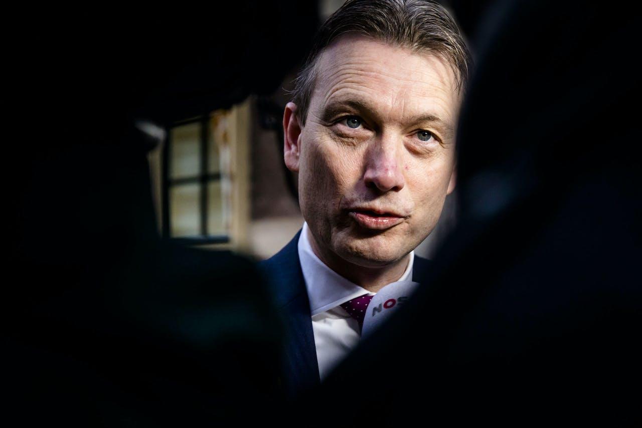 Minister Halbe Zijlstra van Buitenlandse Zaken (VVD)