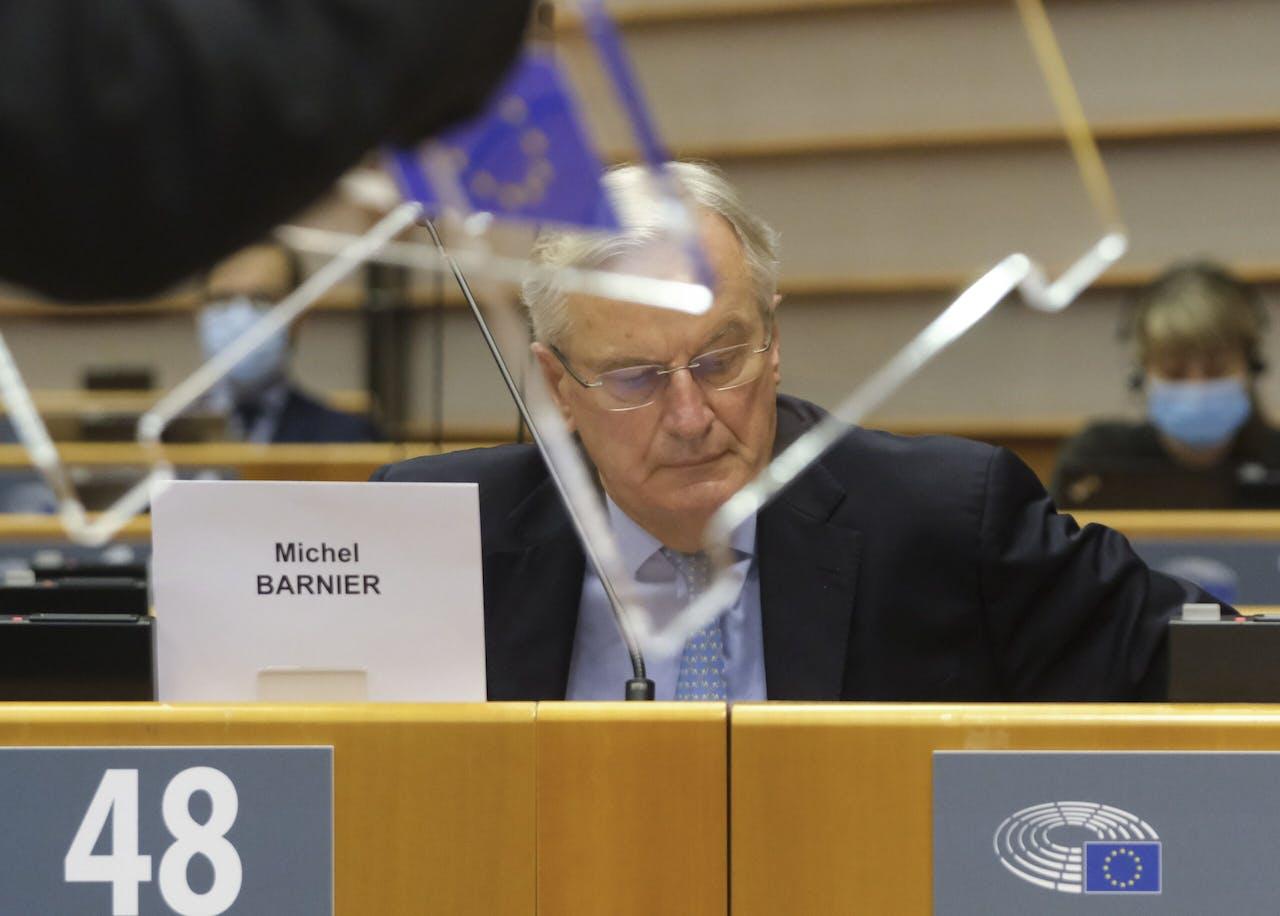 EU-onderhandelaar Michel Barnier