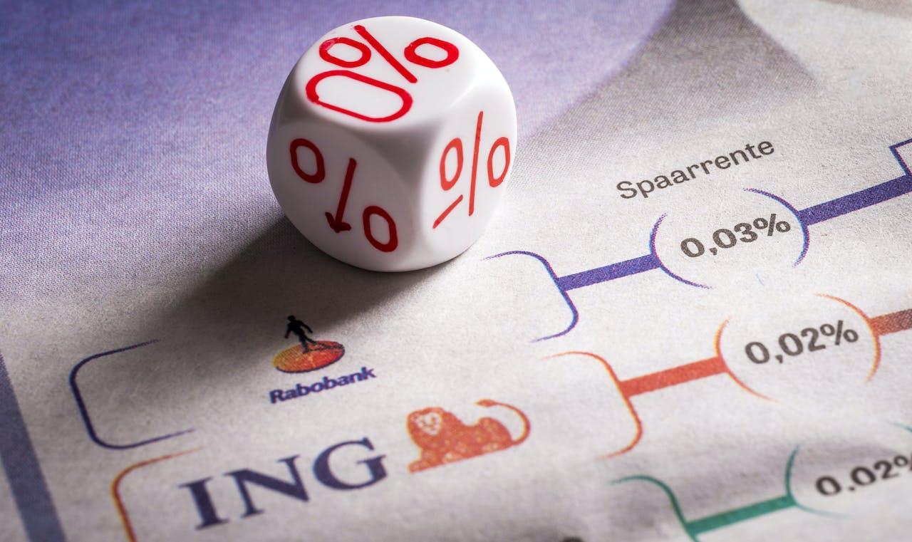 Negatieve rentes, voorlopig niet voor de spaarrentes?