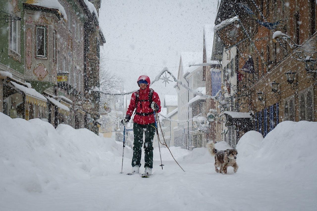 Garmisch-Partenkirchen, Duitsland, 17 januari 2021