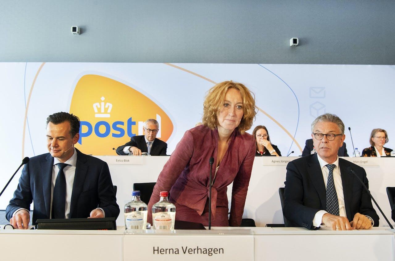 Herna Verhagen, CEO van PostNL.