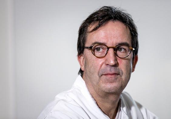 Afdelingshoofd IC Diederik Gommers van Erasmus MC